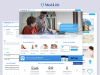 Medlife - Redesign proposal