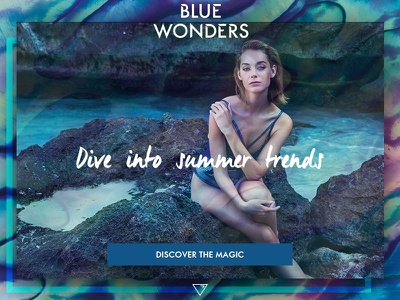 Blue Wonders website magic bw oriflame