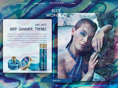 Blue Wonders # oriflame