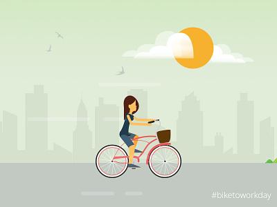 #biketowork bike