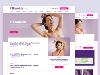 Dermalife website hospital skincare