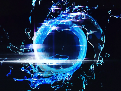 AE water graphic motion t-shirt art after effects