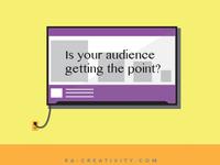 Presentation design advertisement