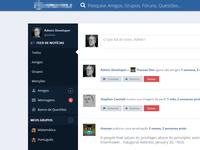 Social Media UI (WIP)
