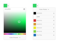 Color Picker UI (A.K.A. Beaver Picker)