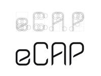 eCAP - custom typeface