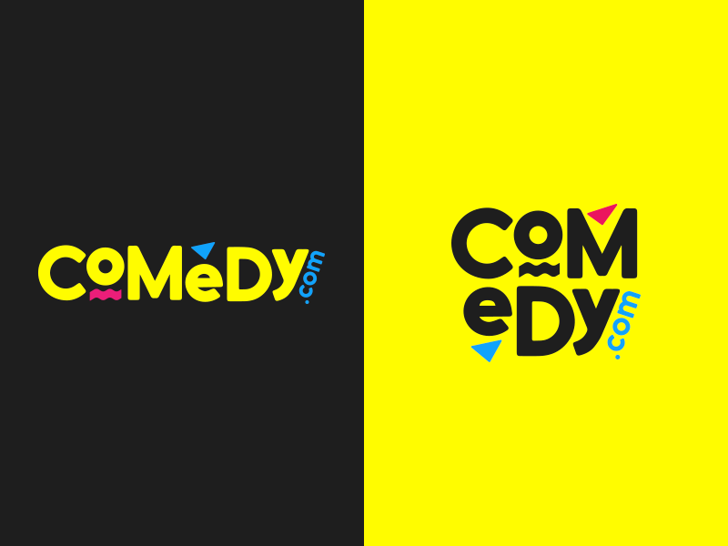 Comedy Com Logo By Bobby Bell On Dribbble