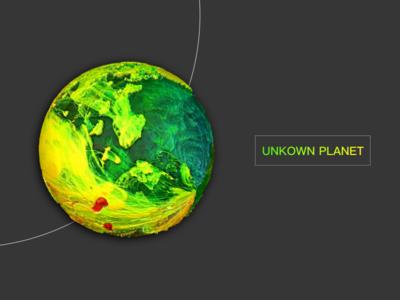 unkown planet