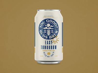 You good? branding design beer art beer can packaging beer branding beer typogaphy