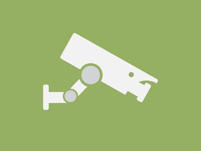 Security Camera - Flat Icon Rebound