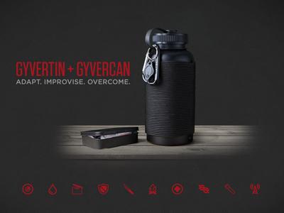 Gyvergear Landing Page