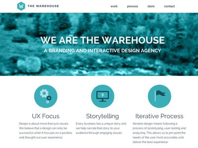 New Warehouse website