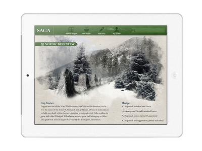 Saga - Storytelling and Culture iPad App