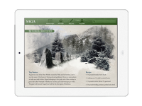 Saga - Storytelling and Culture iPad App