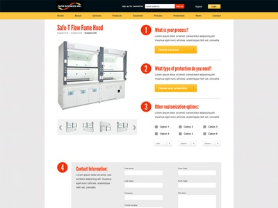 Flow Sciences - Product Page WIP