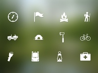 Parks and Rec / Camping Icons