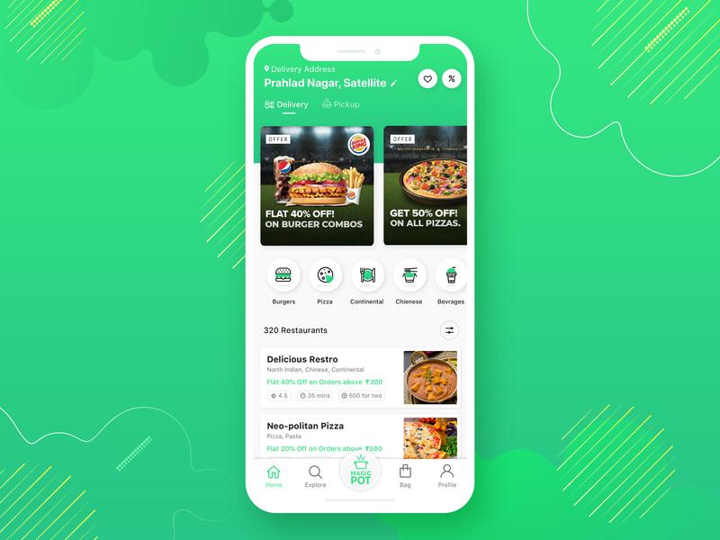 Food Order App UI ubereats swiggy zomato cuisine online food foodapp food