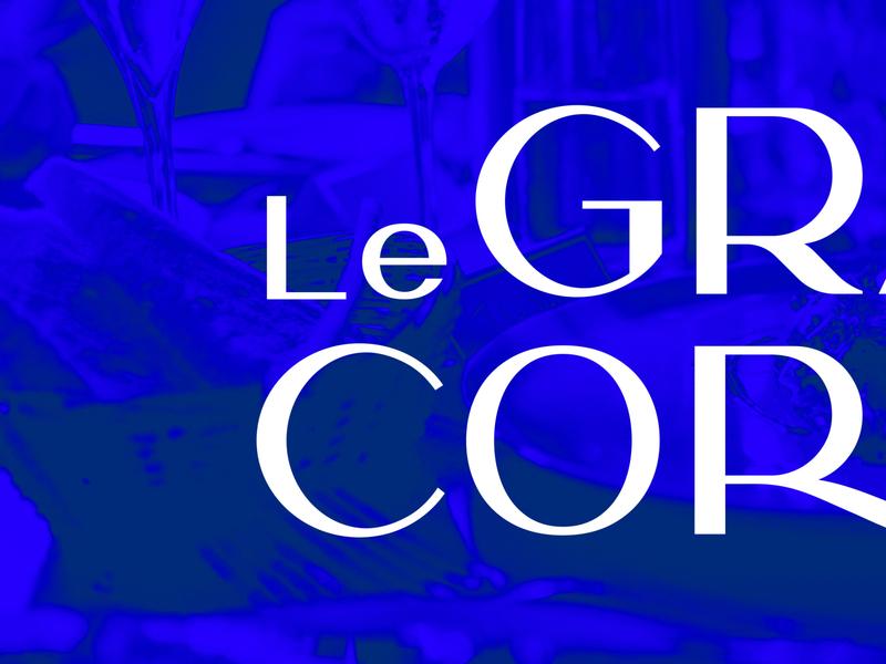 Le Grand Corona restaurant identity