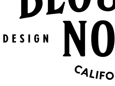 Blouson Noir logo logo vector typography identity branding design