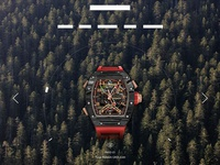 Luxury watches home page