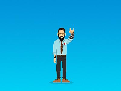 Pixelate myself art pixelate illustration brand personal branding pixel art pixel