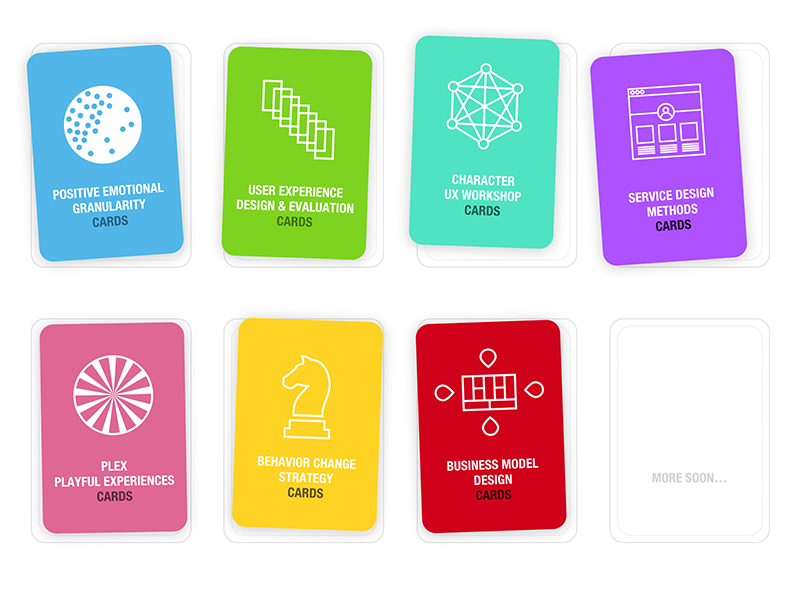 UX cards deck covers by ︎ The Gentlemans Mustache ︎ - Dribbble