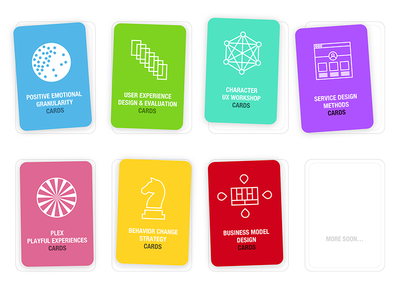 UX cards deck covers