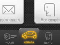 Renault tab bar test