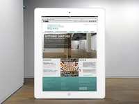 Responsive Museum web design