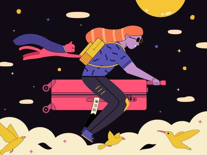 travel travel illustration