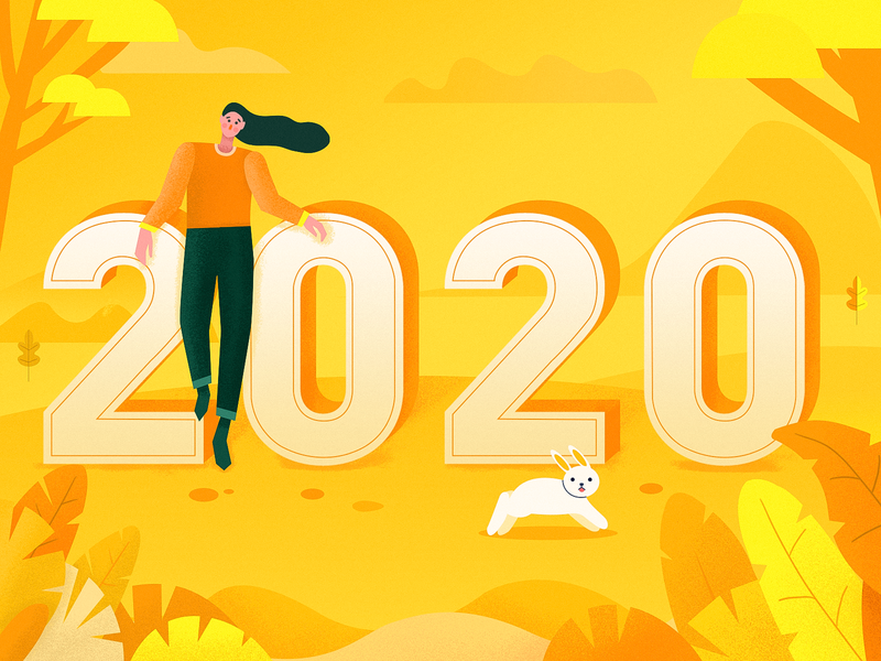 2020 poster persona ui 2020 illustration