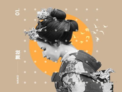 Maiko Poster design