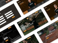 Conkic Tennis Academy Web Design
