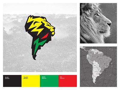 Vedran Badun Adventures t-shirt south america lion colombia rainforest amazon adventures logodesign branding illustration logo design