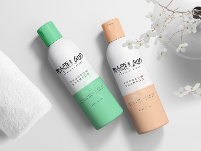 Master Guo - Packaging Design designpeak modern minimaldesign label illustration wash health fresh design print packagingdesign packaging shampoo