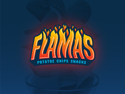 Flamas - Packaging Design bagdesign fooddesign foodpackaging food packagingdesign packaging chipsdesign chips graphicdesign graphic
