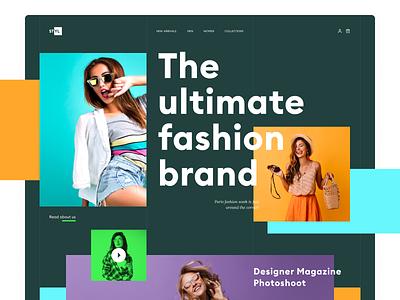 Apparel Website Design webinspiration webservices apparelwebsite apparel layout weblayout digitalart clothingwebsite clothing fashionwebsite fashion uxdesign uidesign uiux ux ui design webdesign web website