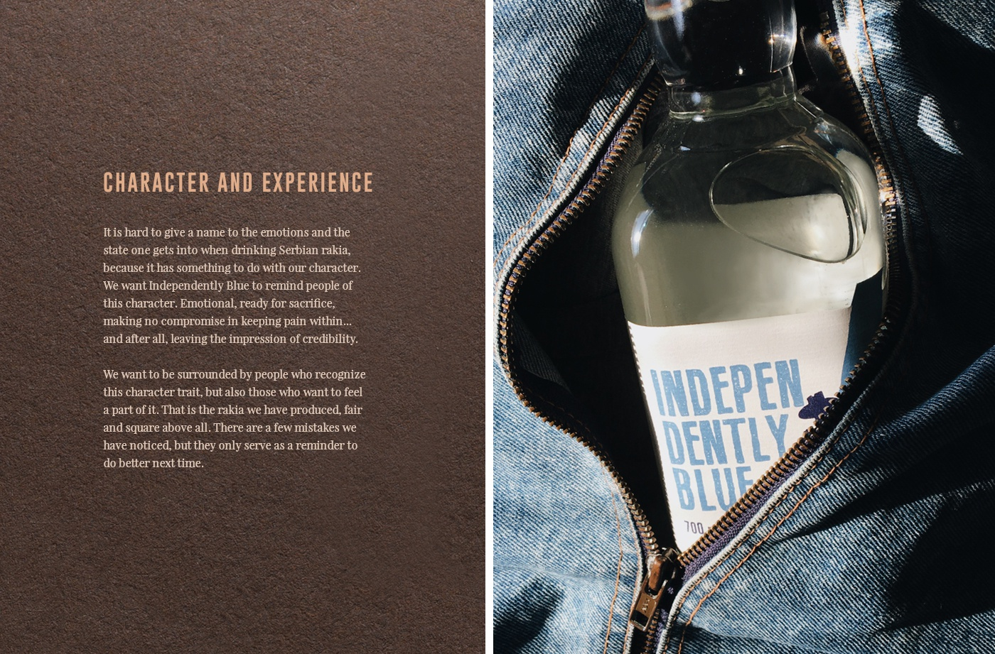 2 rakia label design