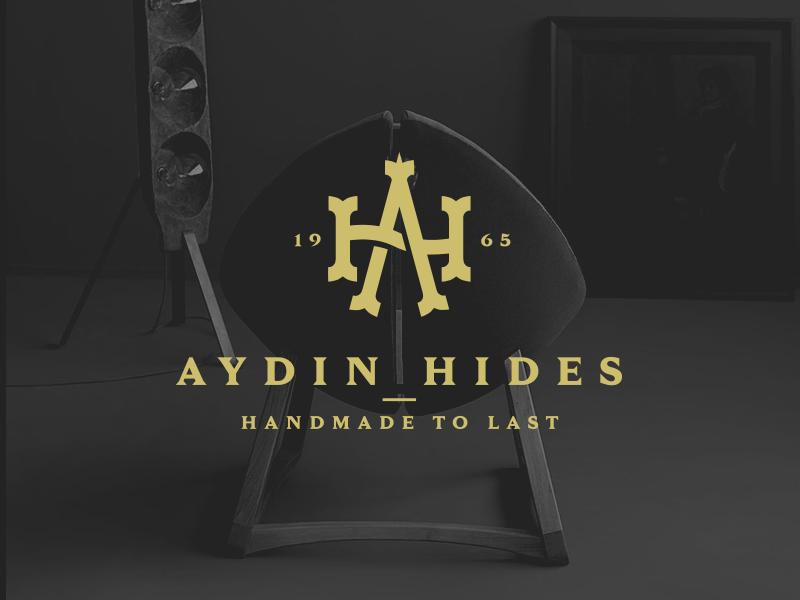 Aydin Hides Logo By Popart Studio Dribbble Dribbble