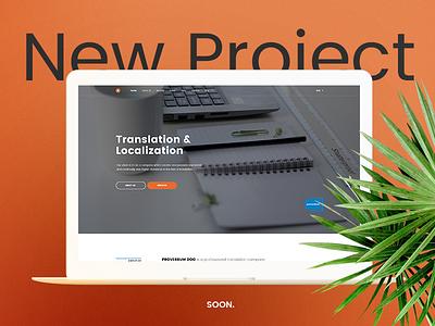Translation agency web design homepage design home design home homepage translation agency web design localization translation
