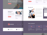 ProPhysio web design