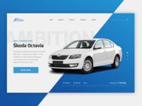 Rent-a-car website