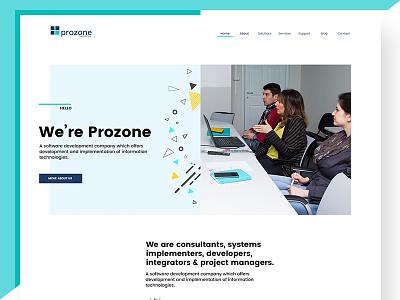 Prozone web design novi sad prozone preview page design web page software software development it web design