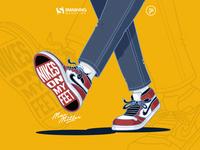 Smashing April - Nikes On My Feet