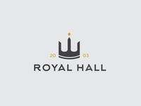 Royan Hall logo design