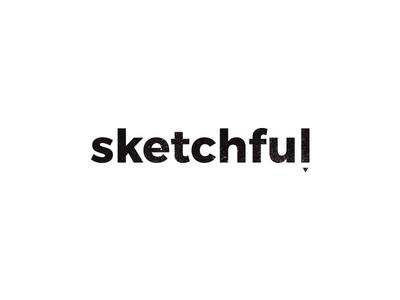 Minimal logo design for Sketchful