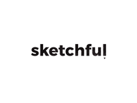 Minimal logo design for Sketchful
