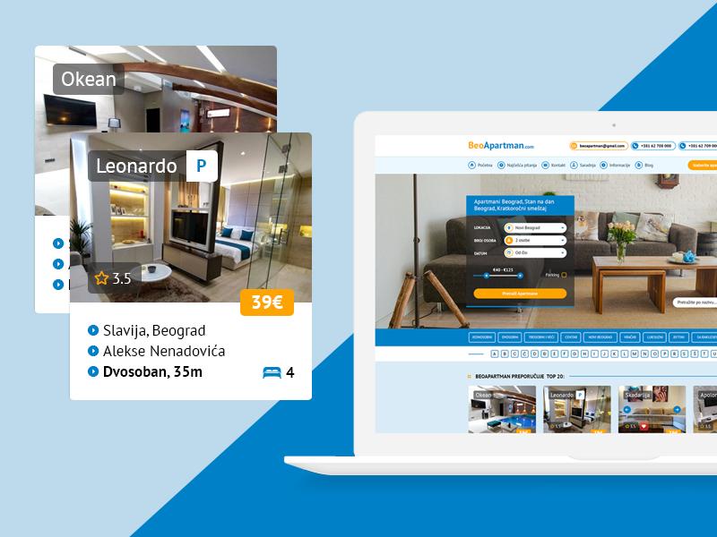Online booking website by PopArt Studio on Dribbble