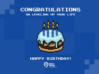 Levi9 birthday card