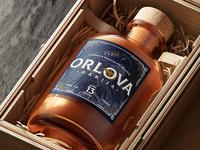 Orlova Rakia Label Design